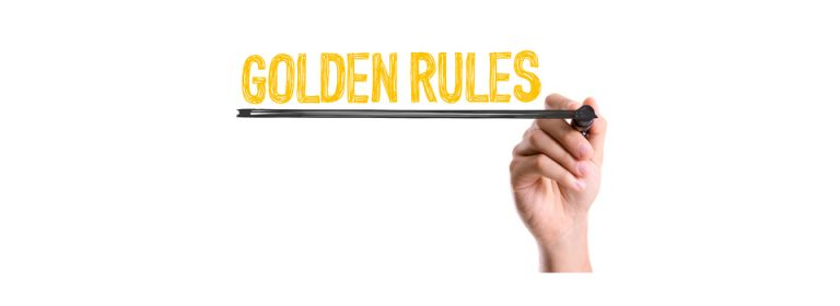 Golden rules of writing a will by yourself