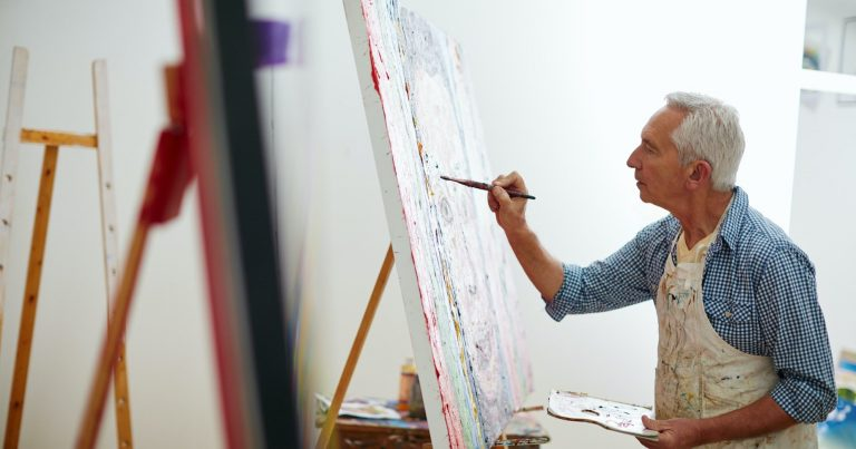 Painting – a hobby that can make you worthy